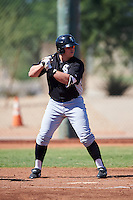 Chicago White Sox Corey Zangari (44) during an Instructional League game against the Cincinnati Reds on October 11, 2016 at the Cincinnati Reds Player Development Complex in Goodyear, Arizona.  (Mike Janes/Four Seam Images)