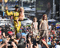 HOMESTEAD, FL - NOVEMBER 19: Matt Kenseth waves to the Crowd during the Monster Energy NASCAR Cup Series Championship Ford EcoBoost 400 at Homestead-Miami Speedway on November 19, 2017 in Homestead, Florida. Credit: mpi04/MediaPunch /NortePhoto.com