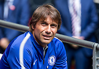 Arsenal v Chelsea FA Community Shield Antonio Conte manager of Chelsea during the FA Community Shield match at Wembley Stadium, London <br /> Foto  Liam McAvoy/FocusImage/Imago/Insidefoto