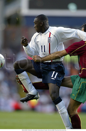 EMILE HESKEY, ENGLAND 1 v Portugal 1, International Friendly, Villa Park 020907 Photo:Glyn Kirk/Action Plus...Soccer.Football 2002..