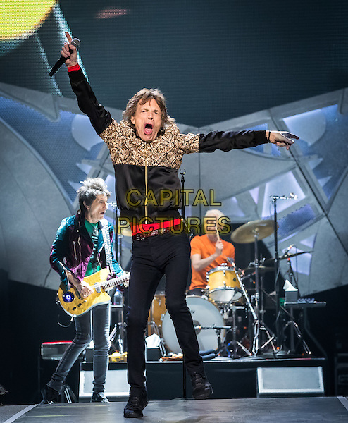 LAS VEGAS, NV - October 22, 2016: The Rolling Stones perform at T-Mobile Arena in Las vegas, NV on October 22, 2016. <br /> CAP/MPI/EKP<br /> &copy;EKP/MPI/Capital Pictures
