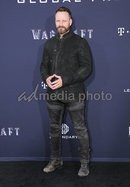 "06 June 2016 - Hollywood, California - Ryan Robbins. Arrivals for the Premiere Of Legendary Pictures and Universal Pictures' ""Warcraft"" held at the TCL Chinese Theater IMAX. Photo Credit: Birdie Thompson/AdMedia"