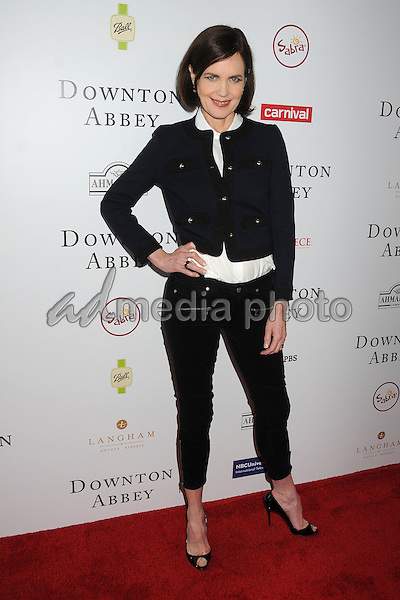 6 June 2015 - Beverly Hills, California - Elizabeth McGovern. An Afternoon With Downton Abbey - Talent Panel Q & A held at the Writers Guild Theatre. Photo Credit: Byron Purvis/AdMedia