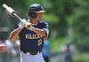 Brian Morrell #23, Shoreham-Wading River pitcher, gets ready to bat during the Class A varsity baseball Long Island Championship against Wantagh at SUNY Old Westbury on Saturday, June 3, 2017.
