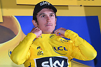 DUSSELDORF, GERMANY - JULY 1 : THOMAS Geraint (GBR) Rider of Team SKY during stage 1 of the 104th edition of the 2017 Tour de France cycling race, a individual time trial stage of 14 kms between Dusseldorf and Dusseldorf on July 01, 2017 in Dusseldorf, Germany, 1/07/2017 <br /> Ciclismo Tour De France 2017 <br /> Foto Photonews / Panoramic / Insidefoto <br /> ITALY ONLY