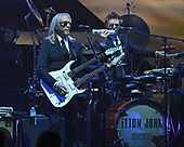SUNRISE FL - MARCH 16: Davey Johnstone and John Mahon of The Elton John Band perform during his 'Farewell Yellow Brick Road' tour at The BB&T Center on March 16, 2019 in Sunrise, Florida. Photo by Larry Marano © 2019