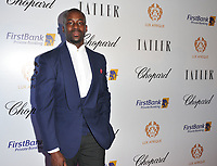 Wale Adeyemi at the Lux Afrique gala dinner, Claridge's Hotel, Brook Street, London, England, UK, on Sunday 01 October 2017.<br /> CAP/CAN<br /> &copy;CAN/Capital Pictures
