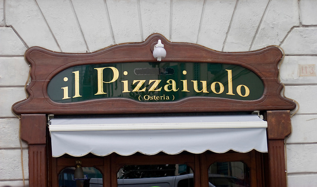 Exterior, II Pizzaiuolo Restaurant, Florence, Italy