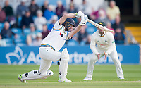 Picture by Allan McKenzie/SWpix.com - 20/04/2018 - Cricket - Specsavers County Championship - Yorkshire County Cricket Club v Nottinghamshire County Cricket Club - Emerald Headingley Stadium, Leeds, England - Yorkshire's Adam Lyth hits out.