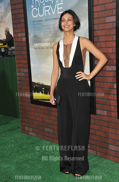 "Morena Baccarin at the premiere of ""Trouble With The Curve"" at the Mann Village Theatre, Westwood..September 19, 2012  Los Angeles, CA.Picture: Paul Smith / Featureflash"