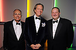 From left: Chairs David Fitch, Harry Pinson and Gregory Looser at the Men of Menil reception at Richmond Hall Thursday March 08,2012. (Dave Rossman Photo)