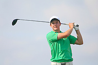 John-Ross Galbraith (IRL) on the 12th during the Home Internationals day 2 foursomes matches supported by Fairstone Financial Management Ltd. at Royal Portrush Golf Club, Portrush, Co.Antrim, Ireland.  13/08/2015.<br /> Picture: Golffile   Fran Caffrey<br /> <br /> <br /> All photo usage must carry mandatory copyright credit (© Golffile   Fran Caffrey)