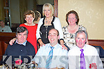 Pictured at the Eircom Christmas Party on Saturday night are: John O'Donoghue, Ger O'Regan, John Slattery, Sheila O'Donoghue, Bernadette O'Regan and Renee Slattery.