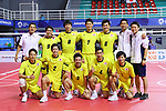 Japan team group (JPN), <br /> AUGUST 24, 2018 - Sepak takraw : <br /> Men's Doubles Preliminary match between Japan - Philippines<br /> at Jakabaring Sport Center Ranau Hall <br /> during the 2018 Jakarta Palembang Asian Games <br /> in Palembang, Indonesia. <br /> (Photo by Yohei Osada/AFLO SPORT)