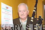 Con Houlihan who is preparing for the 12th annual Bag Piping Society Solo piping competition in the White Gates Inn, Killarney this Saturday