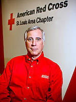 Monday, November 12, 2007--Joe White, Chief Executive Officer of the American Red Cross St. Louis Chapter..Sarah Conard | Post-Dispatch