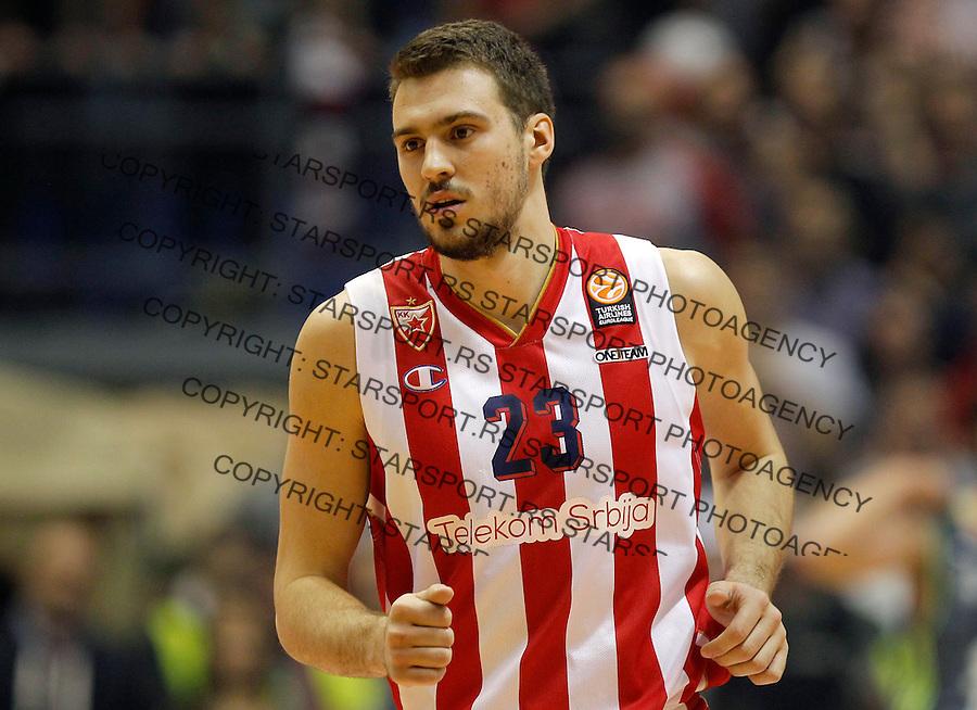 Kosarka Euroleague season 2015-2016<br /> Euroleague <br /> Crvena Zvezda v Real Madrid<br /> Marko Guduric<br /> Beograd, 27.11.2015.<br /> foto: Srdjan Stevanovic/Starsportphoto &copy;