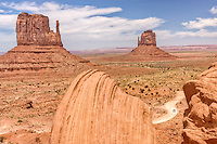 "The ""Mittens"" Monument Valley, Utah.  Monument Valley is one of the most majestic and most photographed places on earth."