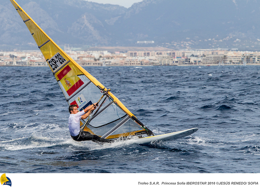 47 Trofeo Princesa Sofia IBEROSTAR, bay of Palma, Mallorca, Spain, takes<br /> place from 25th March to 2nd April 2016. Qualifier event for the Rio 2016<br /> Olympic Games. Almost 800 boats and over 1.000 sailors from to 65 nations<br /> ©Jesus Renedo/Sailing Energy/Sofia