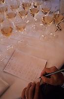 """Europe/France/Champagne-Ardenne/51/Marne/Reims: Dégustation à l'aveugle de champagnes millésims au relais et château """"Les Crayères"""" - les notes de l'oenologue"""