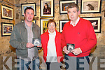 Maurice Egan Launch: Attending the launch of Maurice Egan's traditional music CD at St. John's Arts Centre in Listowel on Friday evening were Maurice Egan and Ann & Maurice O'Mahony.