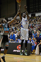 Brandon Bowman in action during the NBL Final - Hawks v Saints at TSB Bank Arena, Wellington, New Zealand on Saturday 5 July 2014. <br /> Photo by Masanori Udagawa. <br /> www.photowellington.photoshelter.com.
