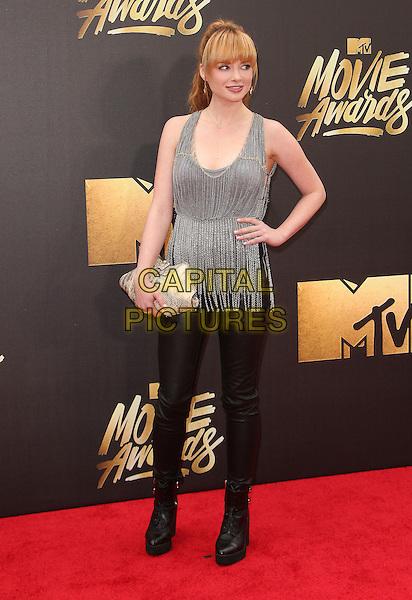 09 April 2016 - Burbank, California - Ashley Rickards. 2016 MTV Movie Awards held at Warner Bros. Studios. <br /> CAP/ADM/SAM<br /> &copy;SAM/ADM/Capital Pictures