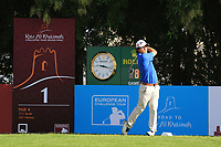 Darius Van Driel (NED) during round 2, Ras Al Khaimah Challenge Tour Grand Final played at Al Hamra Golf Club, Ras Al Khaimah, UAE. 01/11/2018<br /> Picture: Golffile | Phil Inglis<br /> <br /> All photo usage must carry mandatory copyright credit (&copy; Golffile | Phil Inglis)