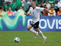 Jay DeMerit. USA Men's National Team loses to Mexico 2-1, August 12, 2009 at Estadio Azteca, Mexico City, Mexico. .   .