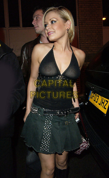 SUZANNE SHAW .Kim Marsh live at G.A.Y, The Astoria.www.capitalpictures.com.sales@capitalpictures.com.©Capital Pictures..see through, see thru top, half length, half-length
