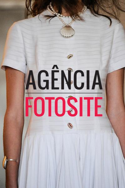 Isabela Capeto<br /> <br /> S&atilde;o Paulo Fashion Week- Ver&atilde;o 2016<br /> Abril/2015<br /> <br /> foto: Daniel Deak/ Ag&ecirc;ncia Fotosite