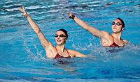 STANFORD, CA; January 20, 2018; Synchronized Swimming, Stanford vs Wheaton College (Massachusetts).