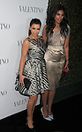 HOLLYWOOD, CA - MARCH 27: Kim Kardashian and Rachel Roy arrive at the Valentino 50th Anniversary And New Flagship Store Opening On Rodeo Drive at Valentino Boutique on March 27, 2012 in Beverly Hills, California.