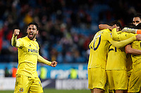 J. Costa of Villarreal during La Liga match between Atletico de Madrid and Villarreal at Vicente Calderon stadium in Madrid, Spain. December 14, 2014. (ALTERPHOTOS/Caro Marin) /NortePhoto