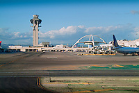 Control Tower, Encounter Restaurant, Los Angeles International Airport