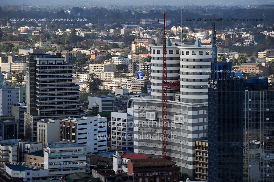 KENYA Nairobi, buildings in city centre / KENIA Nairobi, Gebaeude in der Innenstadt