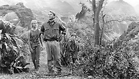 Jurassic Park (1993)<br /> Sam Neill, Ariana Richards &amp; Joseph Mazzello<br /> *Filmstill - Editorial Use Only*<br /> CAP/KFS<br /> Image supplied by Capital Pictures