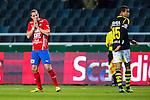 Solna 2013-09-30 Fotboll Allsvenskan AIK - &Ouml;sters IF :  <br /> &Ouml;ster 9 Kenny Pavey ser bekymrad ut<br /> (Foto: Kenta J&ouml;nsson) Nyckelord:  portr&auml;tt portrait depp besviken besvikelse sorg ledsen deppig nedst&auml;md uppgiven sad disappointment disappointed dejected
