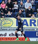 Conrad Balatoni celebrates his goal