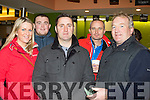 Hare and hound<br /> ----------------------<br /> Having fun at the annual Kingdom cup greyhound coursing at Ballybeggan, Tralee on Sunday Dec 27th last were L-R Catriona Moynihan, Wayne Enright, Declan Connolly, Ian Moynihan with Frank O'Donnell.