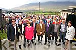 A fantastic crowd attended the opening of Foilmore Community centre on Sunday pictured front l-r; Micheál O'Sullivan(Director), Fr. Niall Howard, Paul Clifford(M.C.), Ann Sugrue(Treasurer), Tom Lynch(Director), Eugene O'Sullivan(Chairman),Danny Tim O'Sullivan, John O'Shea(Director), Johnny O'Connor(Director) & Maureen O'Neill(Secretary).