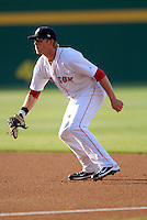 Pawtucket Red Sox' LARS ANDERSON during a game vs. the Buffalo Bisons at McCoy Stadium in Pawtucket, Rhode Island on August 14, 2010  Photo By Ken Babbitt/Four Seam Images