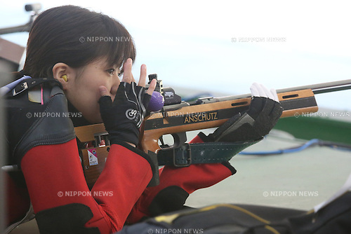 Mami Ayado (JPN), <br /> JULY 6, 2015 - Shooting - Rifle : <br /> The 28th Summer Universiade 2015 Gwangju Women's 50m Rifle Prone at Naju Jeollanamdo Shooting Range in Gwangju, South Korea.<br /> (Photo by Sho Tamura/AFLO SPORT)