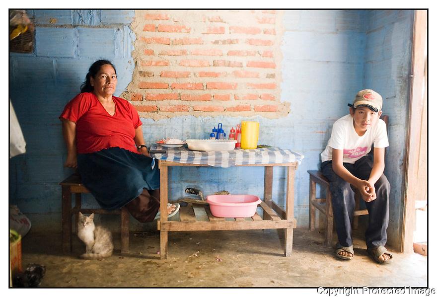 Bolivie<br /> Sur la route de Aiquile.