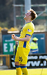 Inverness Caley v St Johnstone…08.04.17     SPFL    Tulloch Stadium<br />Liam Craig celebrates his goal<br />Picture by Graeme Hart.<br />Copyright Perthshire Picture Agency<br />Tel: 01738 623350  Mobile: 07990 594431