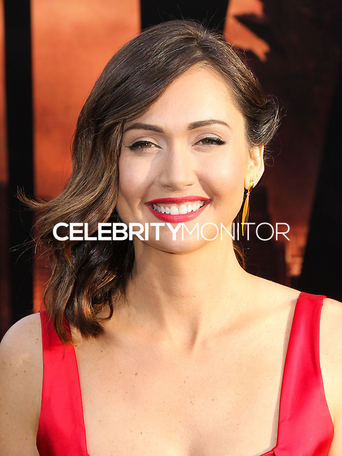 "HOLLYWOOD, LOS ANGELES, CA, USA - MAY 08: Jessica Chobot at the Los Angeles Premiere Of Warner Bros. Pictures And Legendary Pictures' ""Godzilla"" held at Dolby Theatre on May 8, 2014 in Hollywood, Los Angeles, California, United States. (Photo by Xavier Collin/Celebrity Monitor)"
