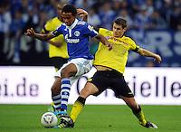 FUSSBALL   1. BUNDESLIGA   SAISON 2011/2012   SUPERCUP FC Schalke 04 - Borussia Dortmund            23.07.2011 Joel MATIP (li, Schalke) gegen Sebastian KEHL (re, Dortmund)