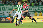 Independiente Santa Fe venció como visitante 4-0 (5-1 en el global) a Atlético Nacional. Semifinales Liga Águila II-2016.