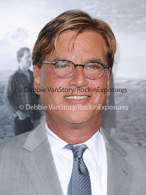 Aaron Sorkin <br />  at The Season 2 Premiere of The HBO Series The Newsroom held at Paramount Studios in Los Angeles, California on July 10,2013                                                                   Copyright 2013 Hollywood Press Agency