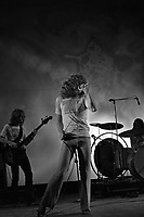 Led Zeppelin performing at the Newport Jazz Festival in Newport, RI on July 6, 1969.  <br /> ** NEVER-BEFORE PUBLISHED PHOTOS **<br /> &copy; Peter Tarnoff / MediaPunch